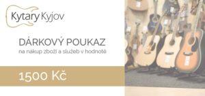 Kytary Kyjov poukaz