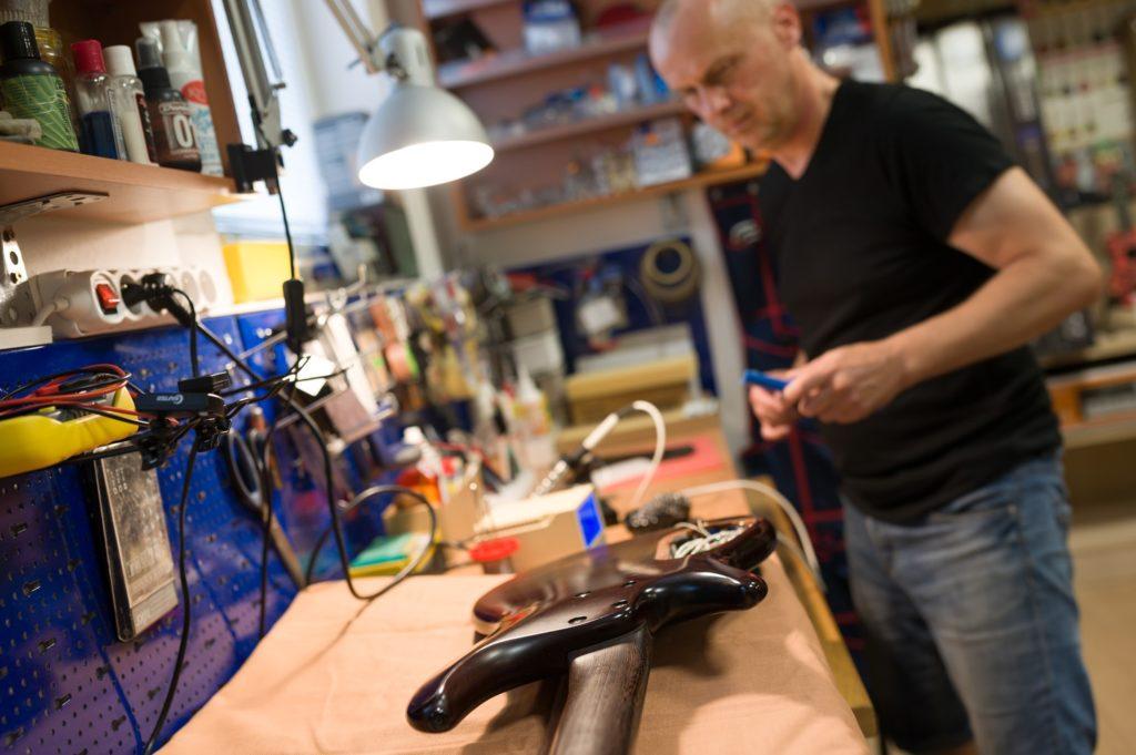 Oprava elektrické kytary Kyjov