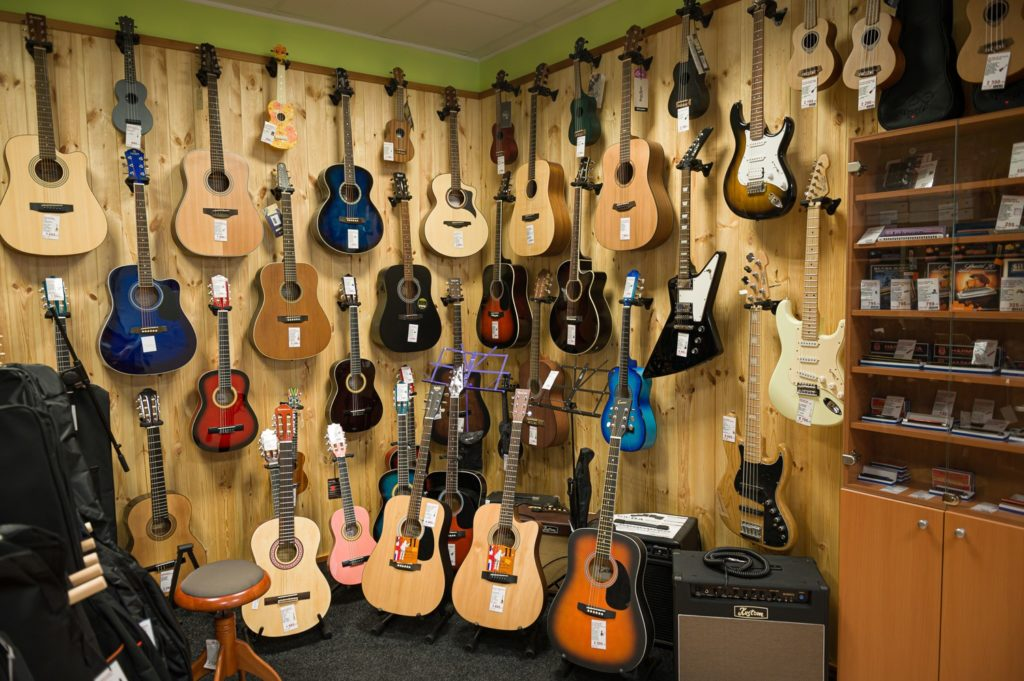 Prodej hudebních nástrojů Kyjov